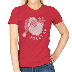 Jolly AF - Womens - T-Shirts - RIPT Apparel