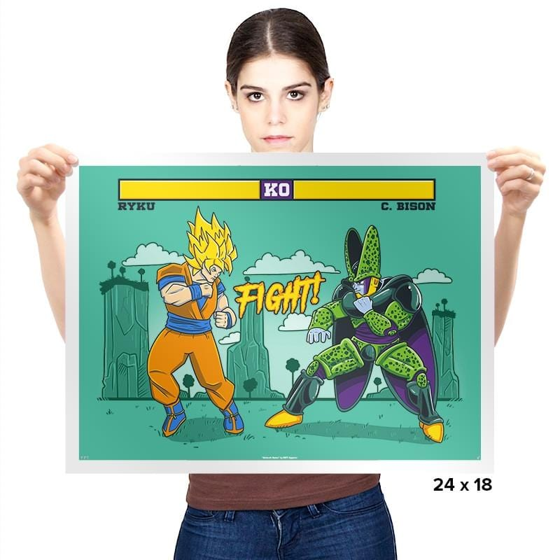 Dragon Fighter Exclusive - Prints - Posters - RIPT Apparel