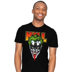 KISS THE BAT - Mens - T-Shirts - RIPT Apparel