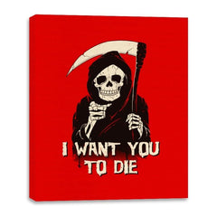 Death Chose You! - Anytime - Canvas Wraps - Canvas Wraps - RIPT Apparel