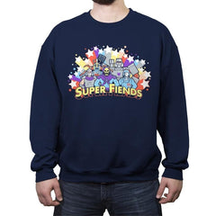 Super Fiends - Crew Neck Sweatshirt - Crew Neck Sweatshirt - RIPT Apparel