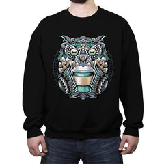 Coffee Spirit - Crew Neck Sweatshirt - Crew Neck Sweatshirt - RIPT Apparel