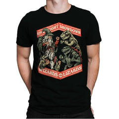 Wizards vs Lizards - Mens Premium - T-Shirts - RIPT Apparel