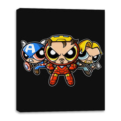 The Puffvengers - Canvas Wraps - Canvas Wraps - RIPT Apparel