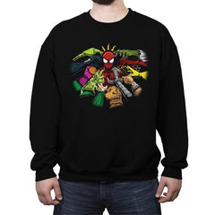 Spider-Yaga - Anytime - Crew Neck Sweatshirt - Crew Neck Sweatshirt - RIPT Apparel