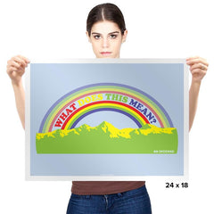 Double Rainbow Exclusive - Prints - Posters - RIPT Apparel