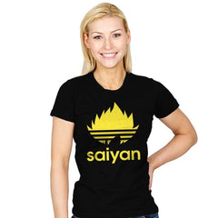 Saiyan - Womens - T-Shirts - RIPT Apparel