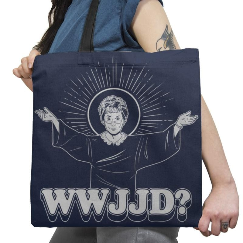 WWJJD? Exclusive - Tote Bag - Tote Bag - RIPT Apparel