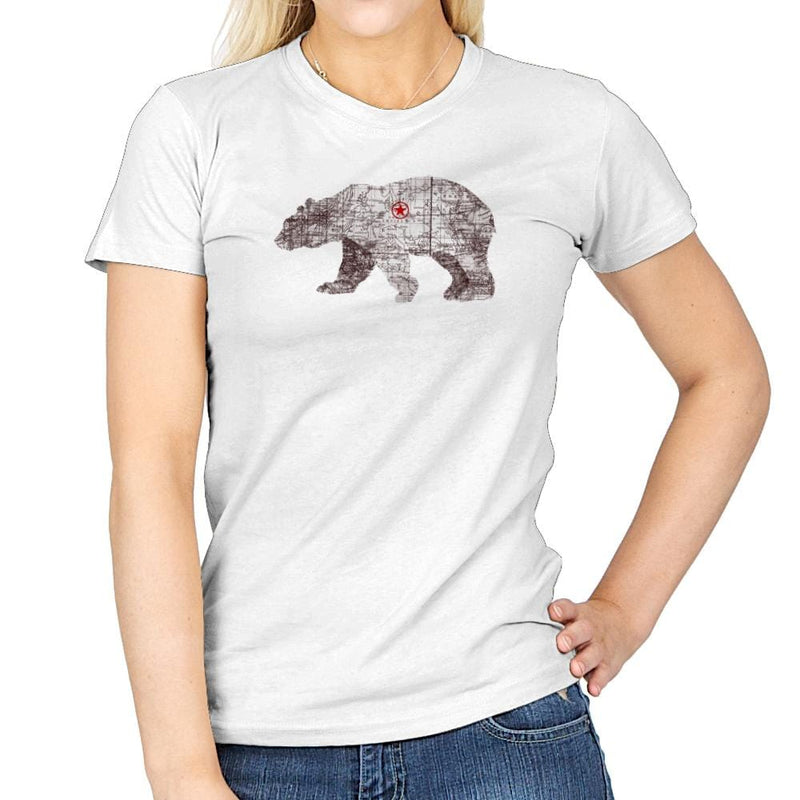 Bearlin - Back to Nature - Womens - T-Shirts - RIPT Apparel