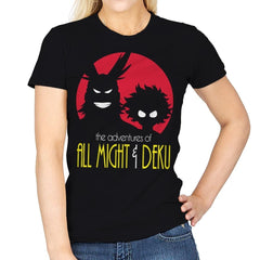 Adventures of All - Womens - T-Shirts - RIPT Apparel