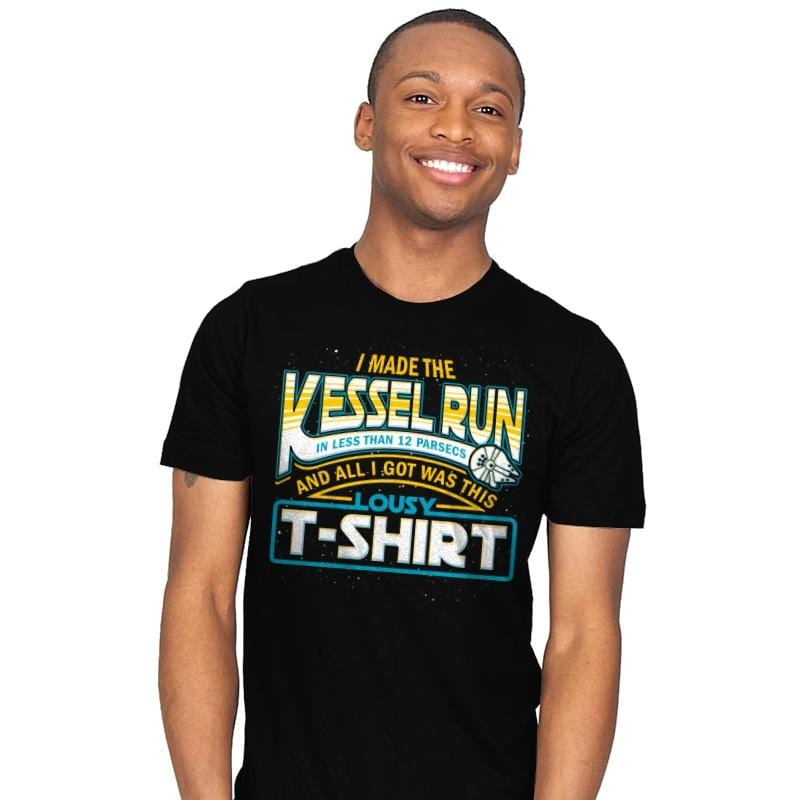I Made the Kessel Run - Mens - T-Shirts - RIPT Apparel