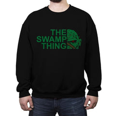 The Swamp Face - Crew Neck Sweatshirt - Crew Neck Sweatshirt - RIPT Apparel