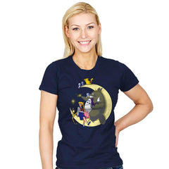 Moonlight Buddies - Womens - T-Shirts - RIPT Apparel