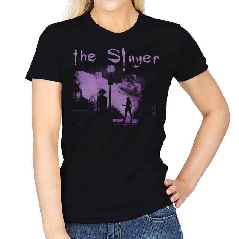 The Vamp Slayer - Womens - T-Shirts - RIPT Apparel