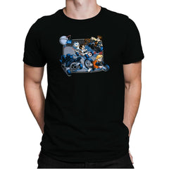 Super Kart Wars - 80s Blaarg - Mens Premium - T-Shirts - RIPT Apparel