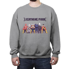 LIGHTNING PARK - Crew Neck Sweatshirt - Crew Neck Sweatshirt - RIPT Apparel