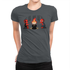 Heroes Camp - Womens Premium - T-Shirts - RIPT Apparel