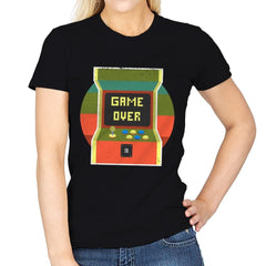 Video Game Over - Womens - T-Shirts - RIPT Apparel