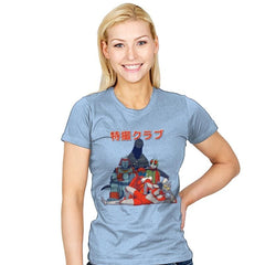 Tokusatsu Club - Womens - T-Shirts - RIPT Apparel