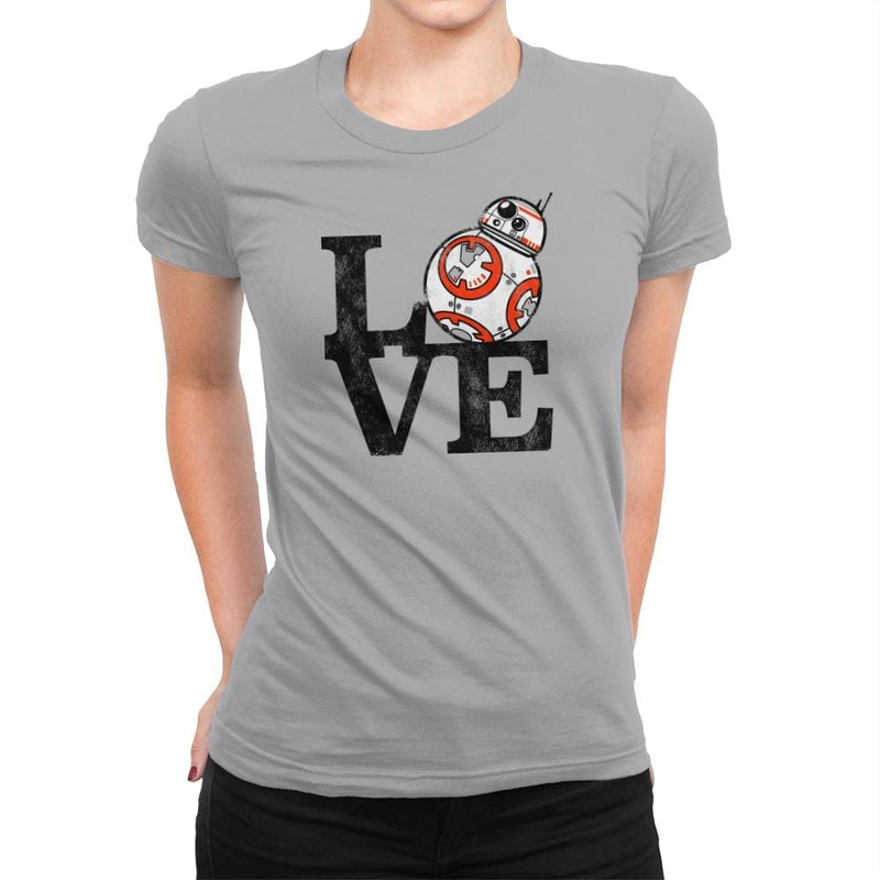 Love BB Exclusive - Womens Premium - T-Shirts - RIPT Apparel