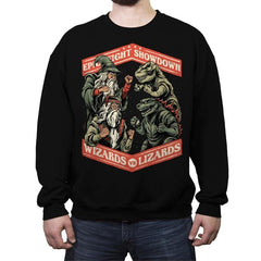 Wizards vs Lizards - Crew Neck Sweatshirt - Crew Neck Sweatshirt - RIPT Apparel