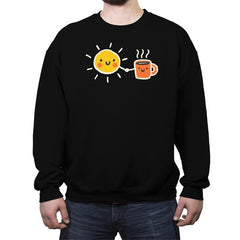 Morning Lovers - Crew Neck Sweatshirt - Crew Neck Sweatshirt - RIPT Apparel