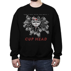 Pew Pew Yaga - Crew Neck Sweatshirt - Crew Neck Sweatshirt - RIPT Apparel