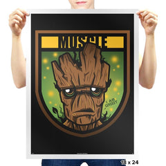Muscle Exclusive - Prints - Posters - RIPT Apparel