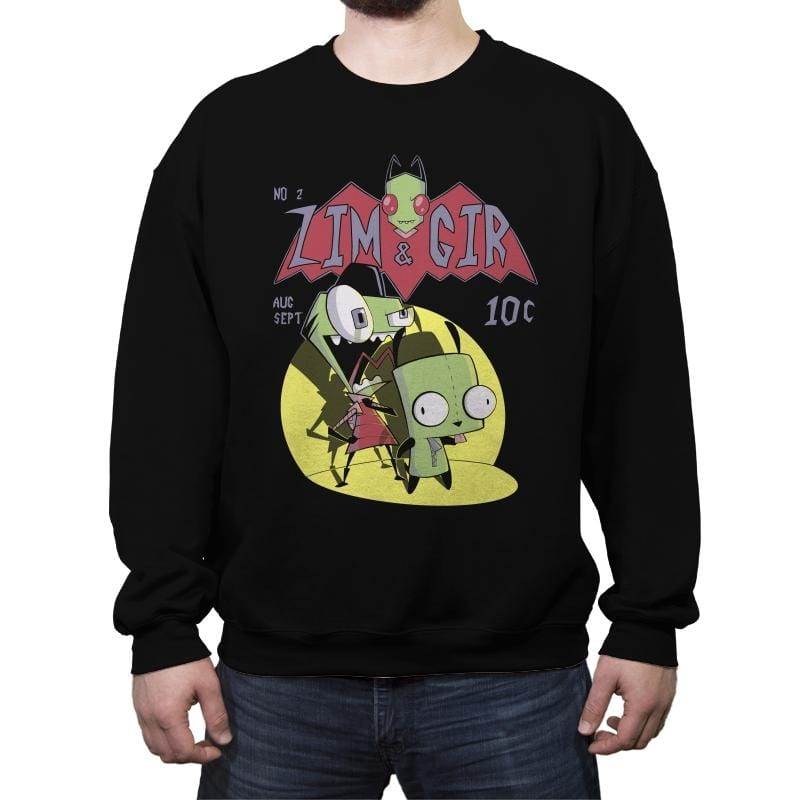 ZimGir - Crew Neck Sweatshirt - Crew Neck Sweatshirt - RIPT Apparel