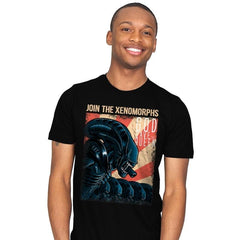 Join the Xenos - Mens - T-Shirts - RIPT Apparel