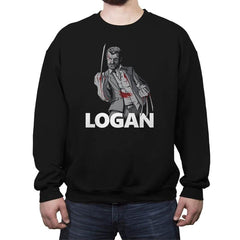 The Mutant in Black - Crew Neck Sweatshirt - Crew Neck Sweatshirt - RIPT Apparel