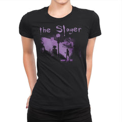 The Vamp Slayer - Womens Premium - T-Shirts - RIPT Apparel