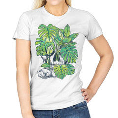Plant Skull - Womens - T-Shirts - RIPT Apparel