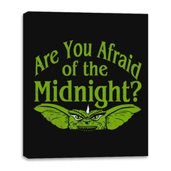 Are you afraid of the Midnight? - Canvas Wraps - Canvas Wraps - RIPT Apparel