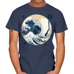 The Great Wave off Music - Mens - T-Shirts - RIPT Apparel
