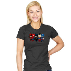 Super Cross Over Bros - Miniature Mayhem - Womens - T-Shirts - RIPT Apparel