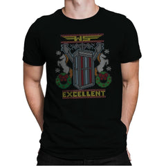 Excellent Sweater - Ugly Holiday - Mens Premium - T-Shirts - RIPT Apparel