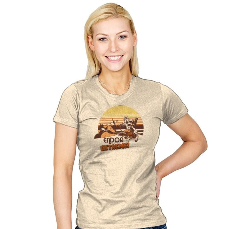Endor is Extreme Exclusive - Womens - T-Shirts - RIPT Apparel