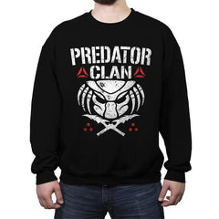 Predator Clan - Crew Neck Sweatshirt - Crew Neck Sweatshirt - RIPT Apparel