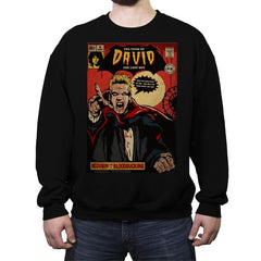 The Tomb of David - Crew Neck Sweatshirt - Crew Neck Sweatshirt - RIPT Apparel