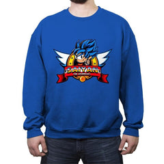 Saiyan, The Legendary - Crew Neck Sweatshirt - Crew Neck Sweatshirt - RIPT Apparel