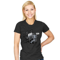 Robot Problems - Womens - T-Shirts - RIPT Apparel