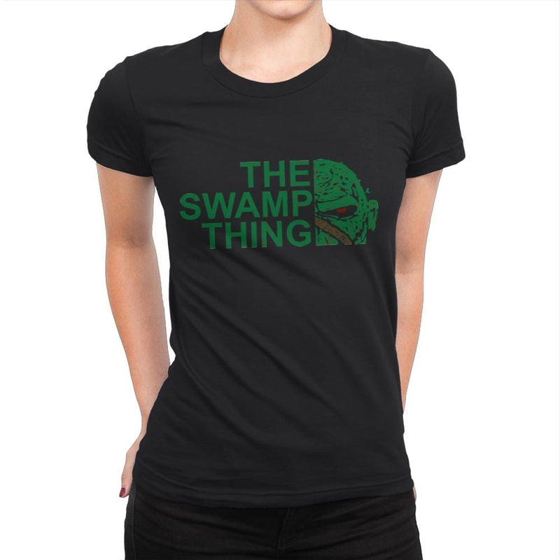 The Swamp Face - Womens Premium - T-Shirts - RIPT Apparel