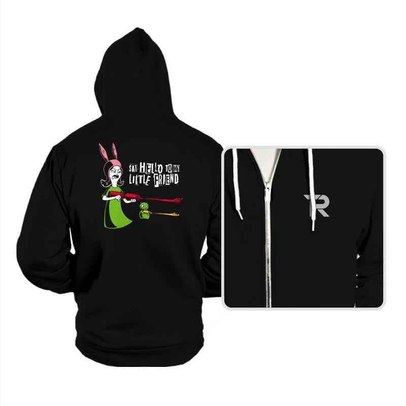 Say Hello to My Little Friend! - Hoodies - Hoodies - RIPT Apparel