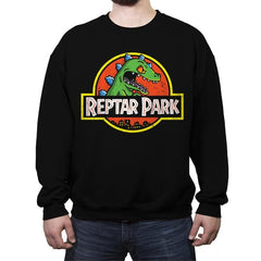 Reptar Park - Crew Neck Sweatshirt - Crew Neck Sweatshirt - RIPT Apparel