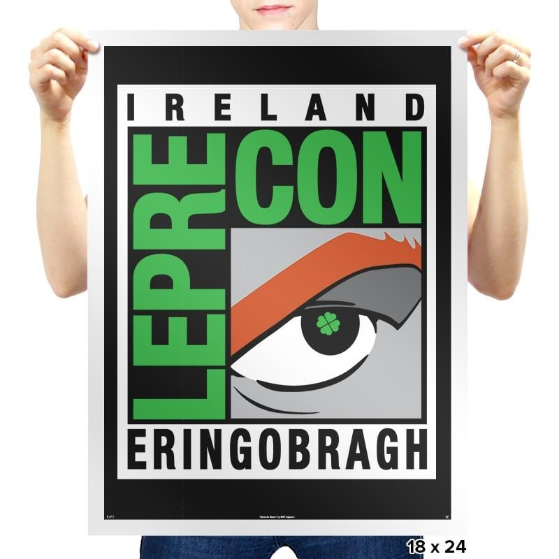LepreCon Exclusive - St Paddys Day - Prints - Posters - RIPT Apparel