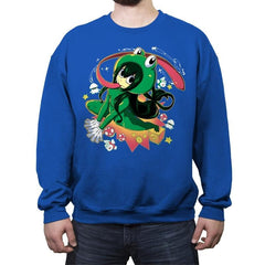 Froppy Suit - Crew Neck Sweatshirt - Crew Neck Sweatshirt - RIPT Apparel