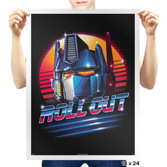 Roll Out - Prints - Posters - RIPT Apparel