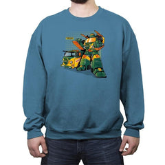 Turtlehide Reprint - Crew Neck Sweatshirt - Crew Neck Sweatshirt - RIPT Apparel