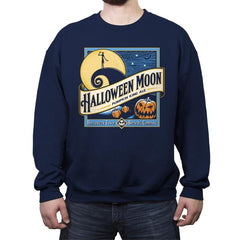 Halloween Moon - Crew Neck Sweatshirt - Crew Neck Sweatshirt - RIPT Apparel